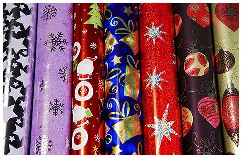 Упаковочная бумага для подарков купить